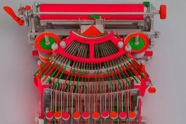 Schirn_Presse_GermanPop_Manfred_Kuttner_Schreibmaschine_1963