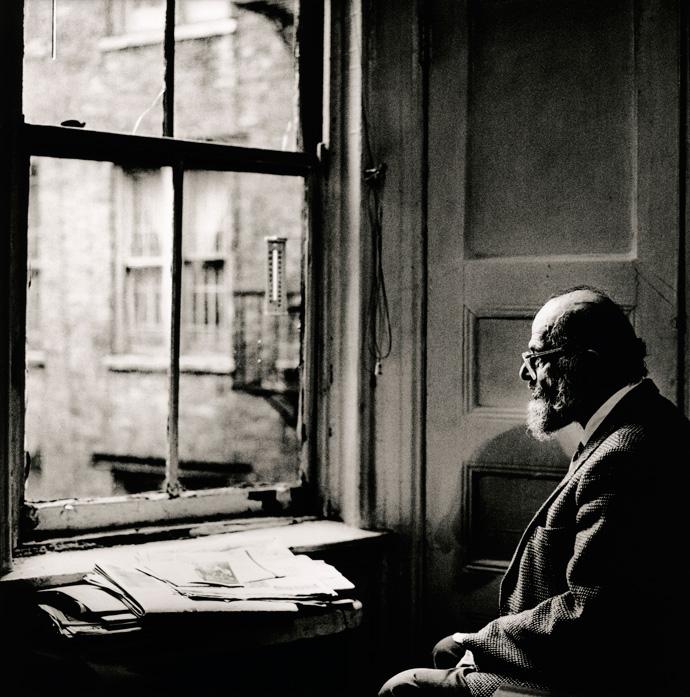 Allen Ginsberg, New York 1996 | © Anton Corbijn