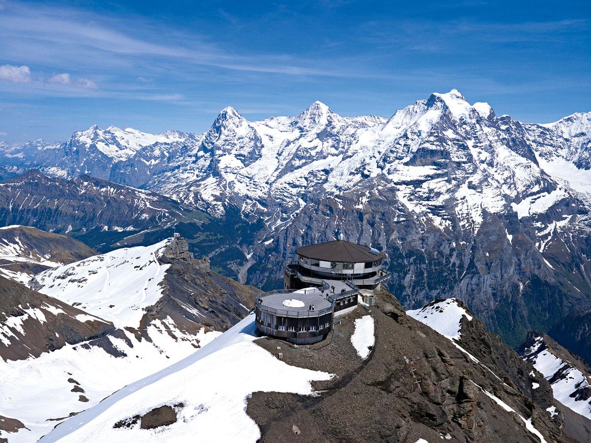 Piz Gloria – das erste Berg-Drehrestaurant der Welt in der Schweiz