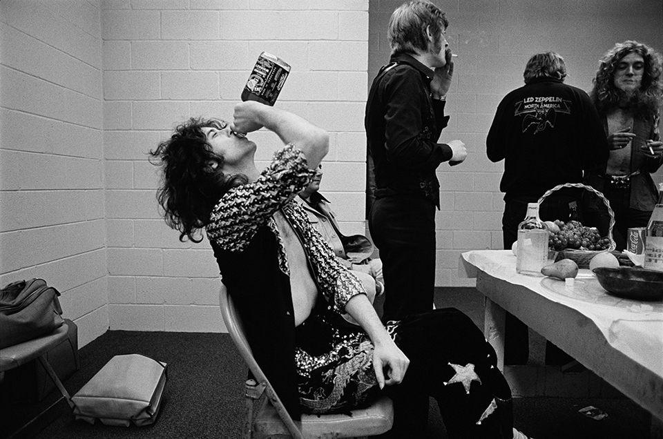 Jimmy Page, Indianapolis, Indiana, January 1975
