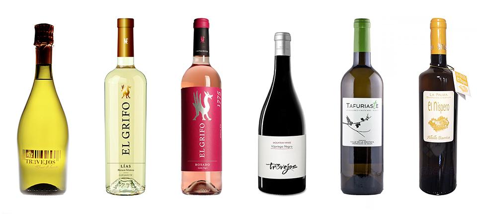 Wein zusammengestellt